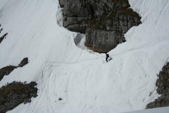 Einfahrt in den Eisgraben